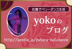 佐賀でベリーダンス生活 yokoのブログ